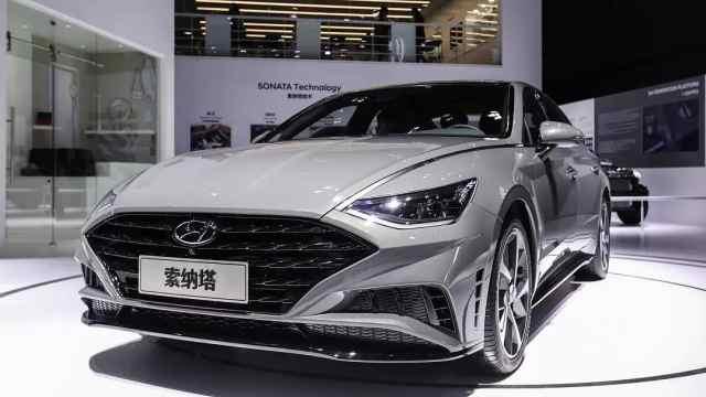 北京现代新形象登陆广州车展