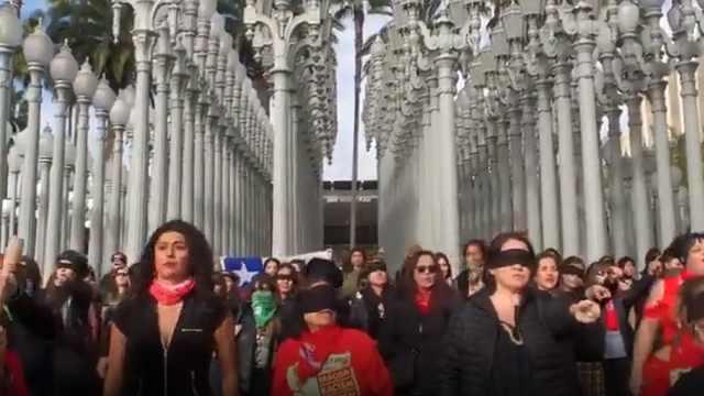 痛斥强奸犯!智利女性唱跳视频大火