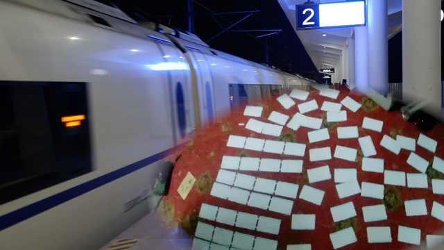 女子造假火车票2497张,1张可赚30