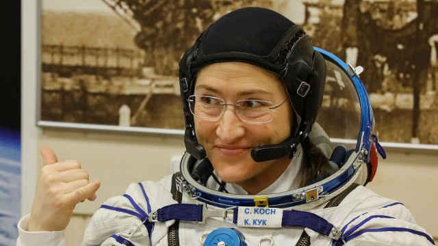 女性单次太空飞行最长纪录被打破!