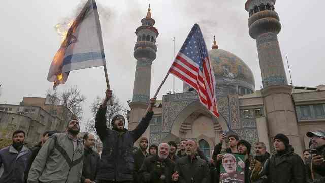 伊朗称无意开战,但做好任何准备