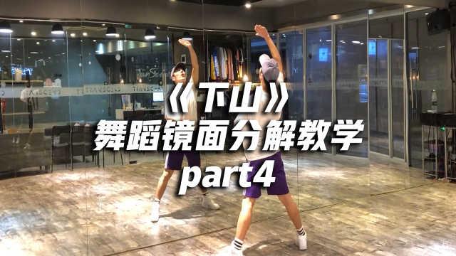 《下山》舞蹈镜面分解教学part4