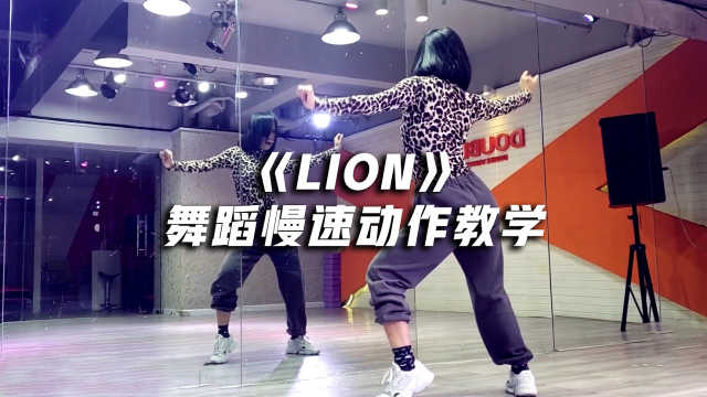 《LION》舞蹈镜面慢速动作教学