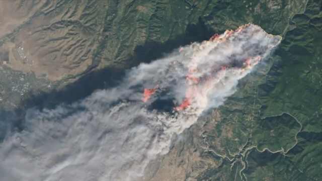 NASA:澳洲山火雾霾将绕地球一圈