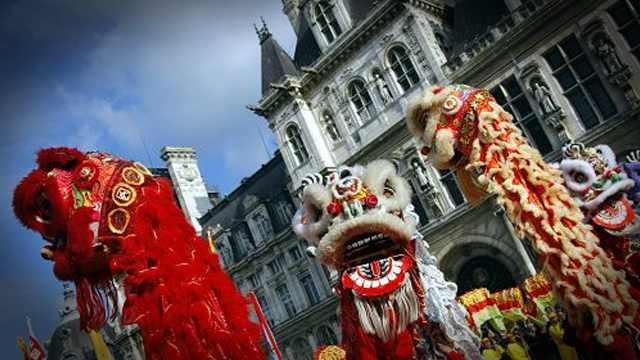 受中国影响的外国,都怎么过春节?