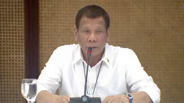 菲律宾总统:不要因疫情指责中国人