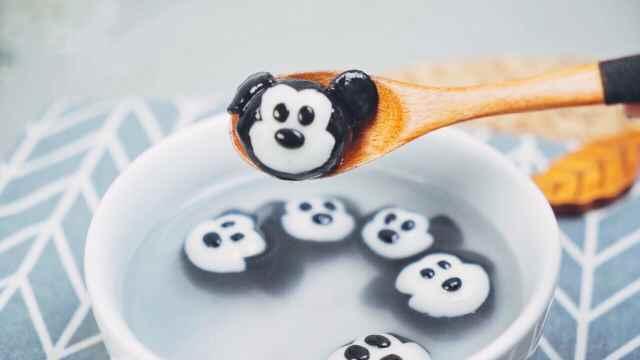 呆萌米老鼠汤圆,好看更好吃!