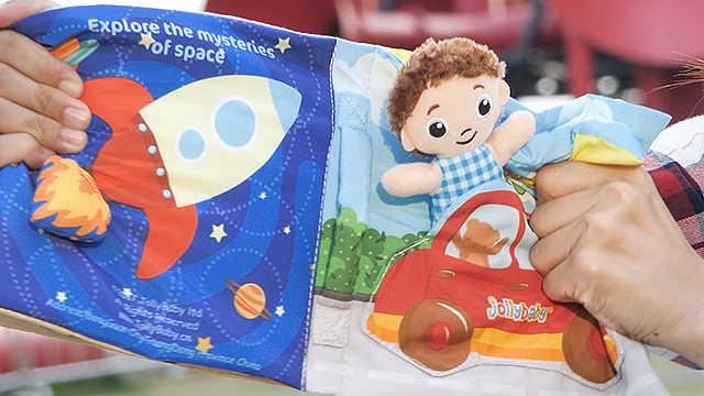 场景布书玩乐中让宝宝get生活常识