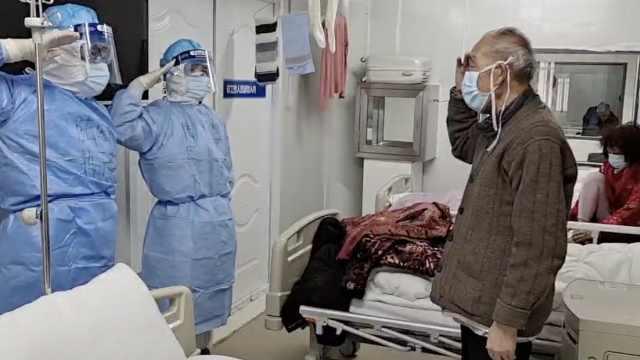 火神山9名患者同时出院:想走又想留