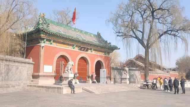 太原晋祠博物馆恢复开放,门票半价