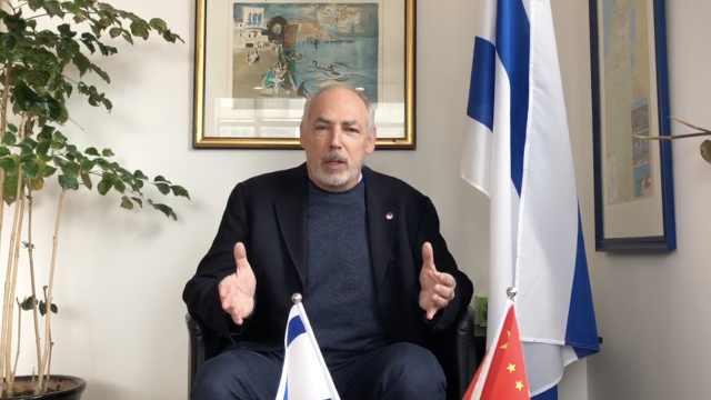 以色列总领事:以中研发新冠疫苗