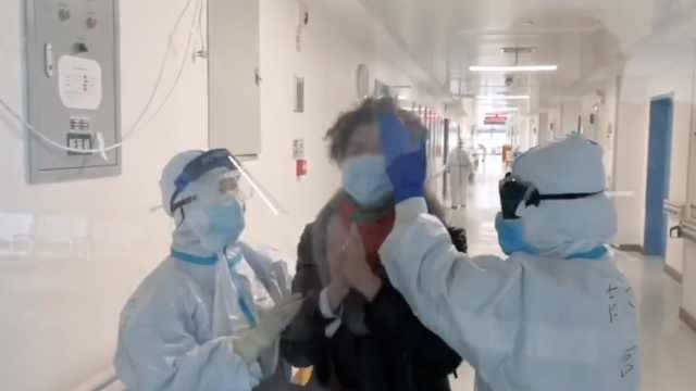 患者出院,援鄂护士哭成泪人:来得值