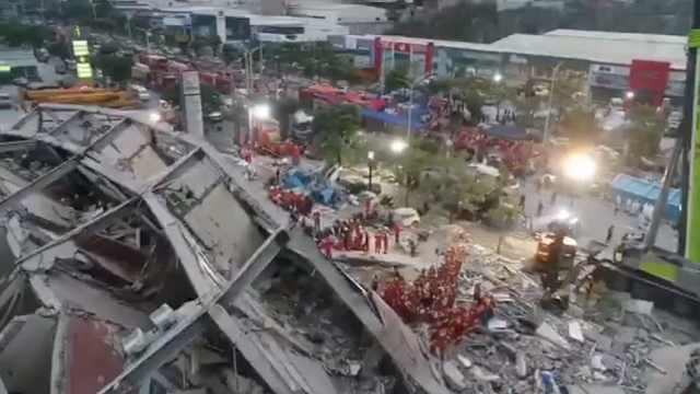 欣佳酒店坍塌,幸存者讲述获救经过