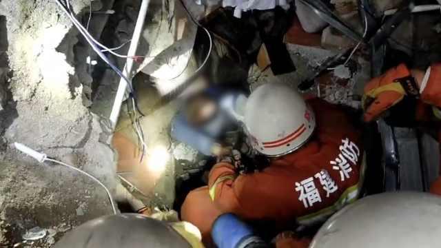 救援72小时!坍塌酒店仍有9人被困