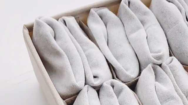 袜子该怎么叠?