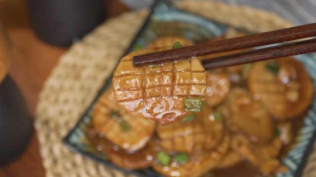 5块钱买回的杏鲍菇,改几下花刀,竟然吃出了鲍鱼的感觉