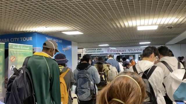 归国路|多名留学生滞留埃塞俄比亚,使馆:特批航班全部带回