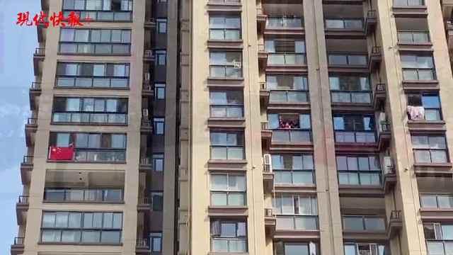 最后一支援鄂医疗队撤离!居民窗边挂五星红旗欢送