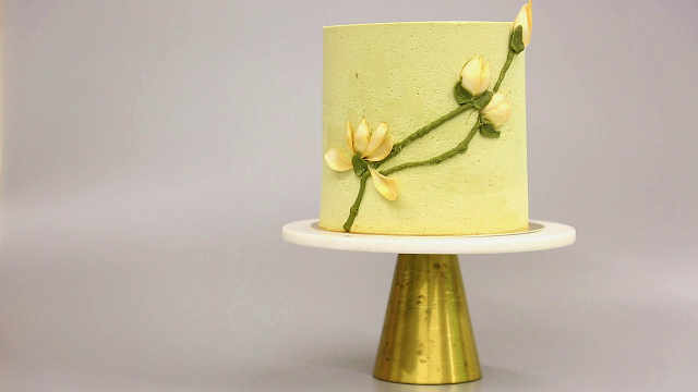 抹茶百合慕斯蛋糕(下集):为妈妈调整风味比例