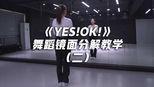青你2主题曲《YES!OK!》舞蹈镜面分解教学(二)