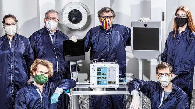 NASA仅用37天研制出新型呼吸机,部件少可快速生产