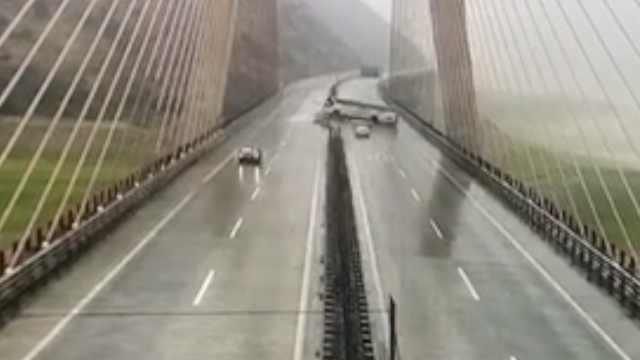 雅西高速侧翻客车行车记录曝光:在隧道口变道
