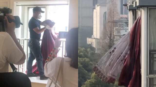 最好的结局!武汉网红窗帘被博物馆永久收藏