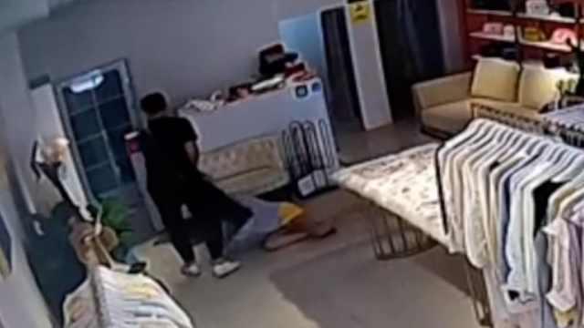 遭家暴跳楼女子丈夫已被羁押,当地妇联介入