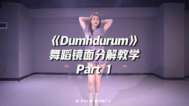 APINK《Dumhdurum》舞蹈镜面分解教学Part 1