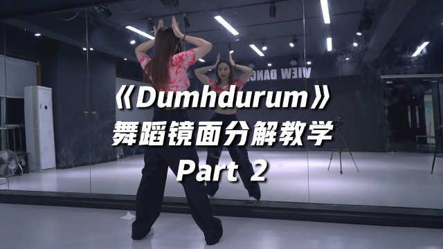 APINK《Dumhdurum》舞蹈镜面分解教学Part 2