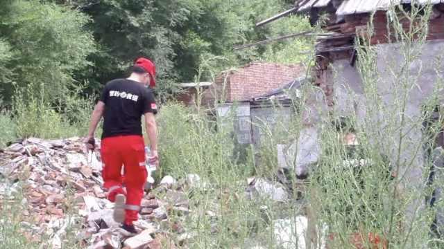 女子与老公吵架离家失联6天,监控显示进入废墟后再没出来