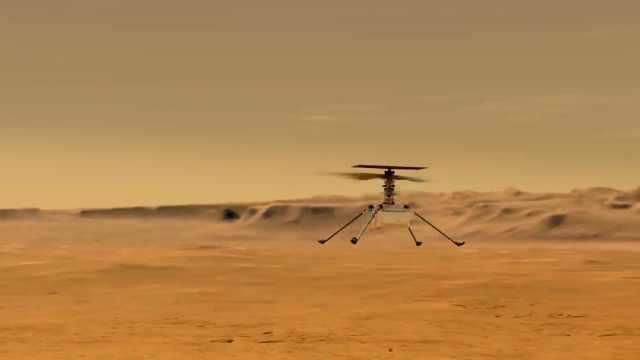 揭秘首个火星直升机:将是首架在外星大气飞行的人类飞机