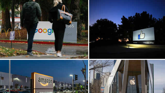 同发疫情期抢眼财报,美国四大科技巨头市值日增2000亿美元