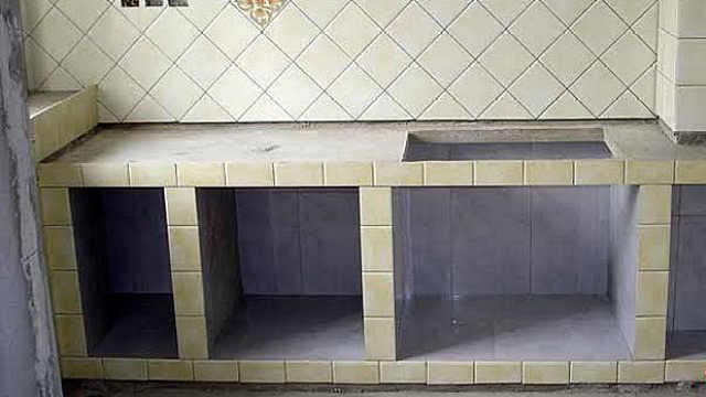 用水泥砌水泥橱柜好用吗?