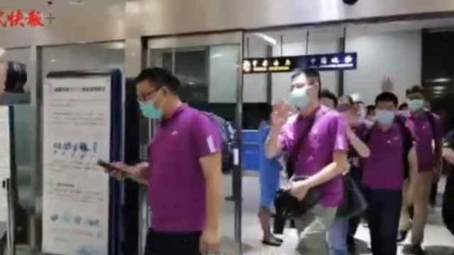 医师节里英雄归来!江苏支援新疆检验医疗队平安回家