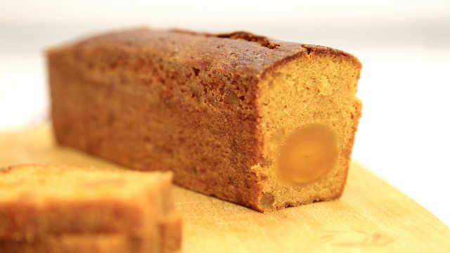 凤梨咸蛋黄磅蛋糕,请不要放过法式甜品!
