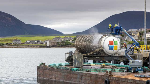 海底运行两年后,微软初步验证水下数据中心可行