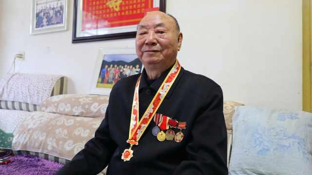 90岁抗美援朝老兵马玉林讲述跨过鸭绿江之后看到的情形