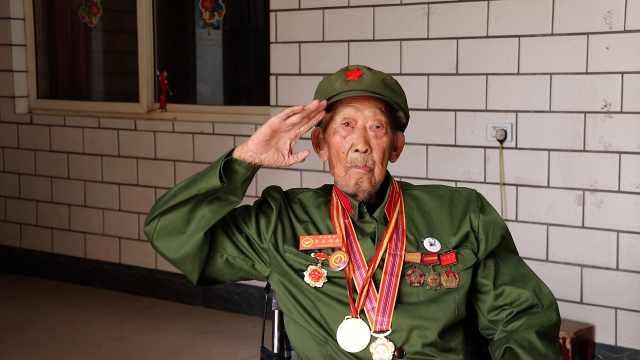 抗美援朝老兵录|93岁老兵4次作战2次负伤,一夜攻下7个碉堡