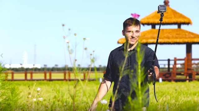 骑行、护林、到湿地喂鸟,美国小哥在天津的生态之旅有多精彩