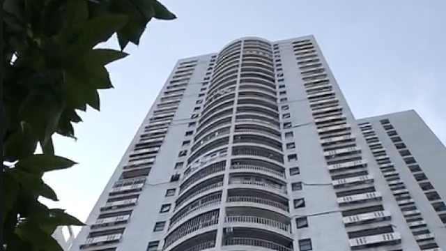 广州蛋壳公寓18楼租客坠楼,住户:看到楼下有血迹