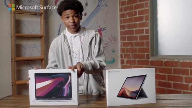 微软发视频正面怼Macbook:Surface是更优选择