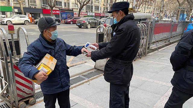南京基层社区筑牢疫情防控网