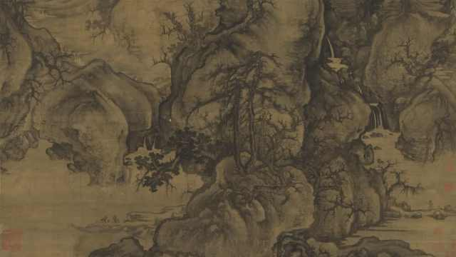 北宋山水名画解析:郭熙《早春图》美在哪里?