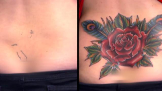 恶心纹身也能真·开出花儿来?