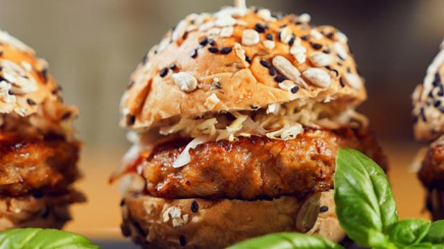 健身人士也推荐的:低卡路里汉堡包