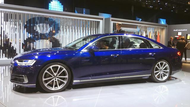 奥迪发布全新旗舰轿车新一代A8