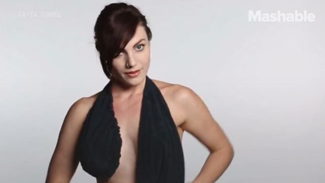 戴上这款毛巾,免除女性出汗的烦恼