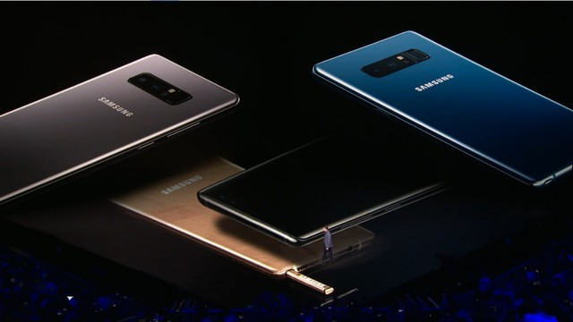 安卓最强机三星Note 8发布