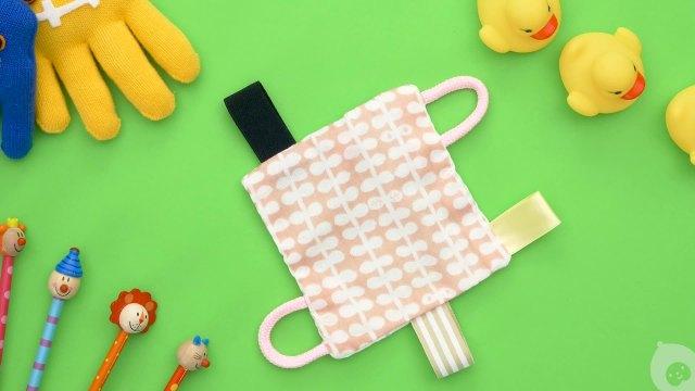 手工DIY:充满童心的小手绢